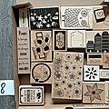 Du tri dans mon atelier : vente de tampons bois