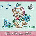 Echange ATC chez Miou lettre C Marie de Clessé pour Mireille