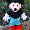 Mickey et minnie de kaline