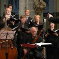 L'ensemble vocal de courtrai chante bach