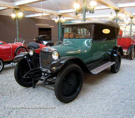 Berliet type VL torpedo de 1920 (Cité de l'Automobile Collection Schlumpf à Mulhouse) 01