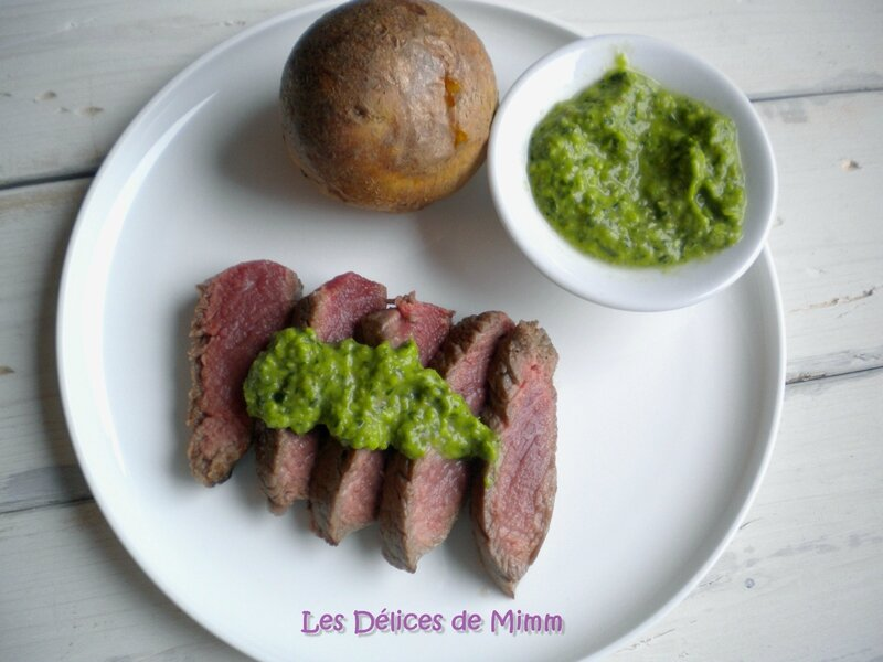 Steaks sauce Chimichurri 2