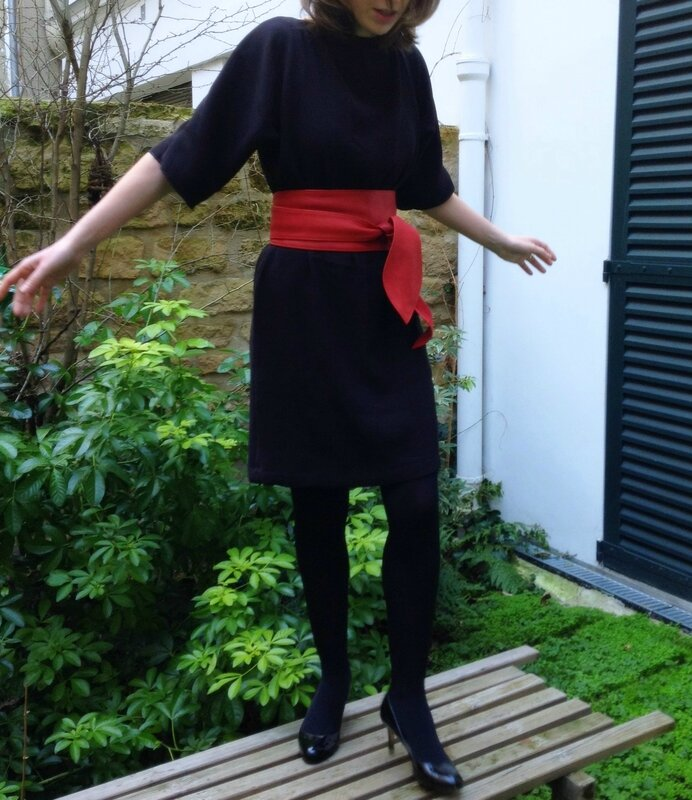 Salme Kimono sleeve dress (2)
