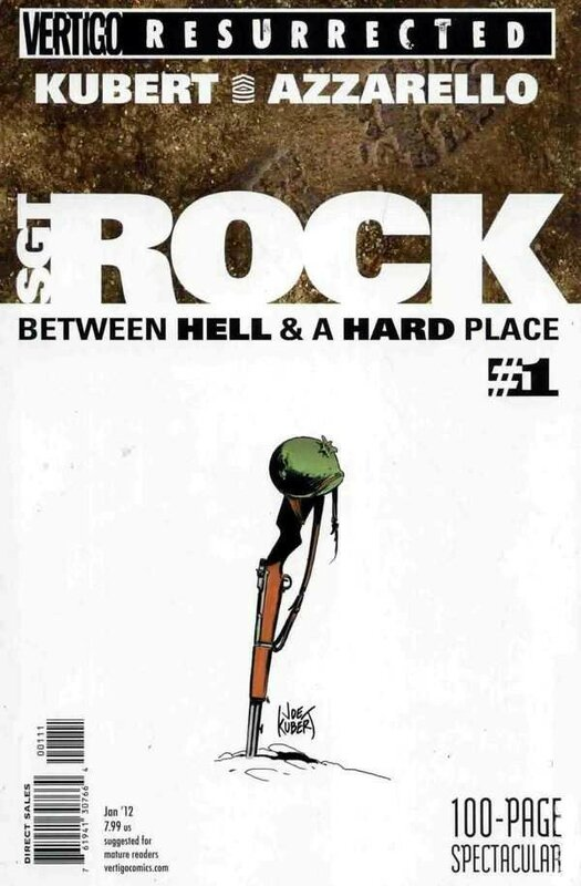 vertigo resurrected sgt rock between hell and a hard place 1