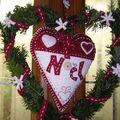 Coeur de Noël MC ID et Cinnamon patch