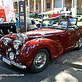 Triumph 2000 roadster de 1948 (34ème internationales oldtimer meeting de baden-baden)