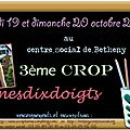 Crop des 19 et 20 octobre 2013