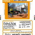 Fête du patrimoine- atelier d'urbanisme utopique
