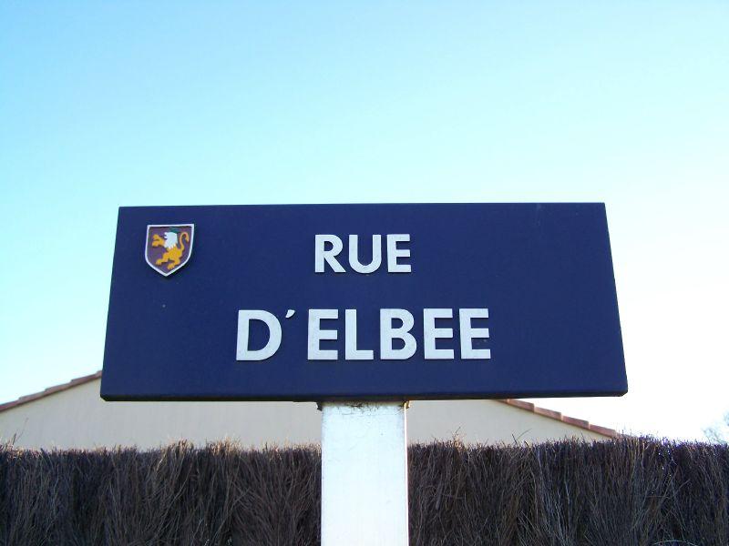 La Guyonnière (85), rue d'Elbée