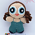 #crochet : super sisi [powerpuff cécile]
