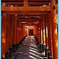 Jour 10 - fushimi inari taisha & les pavillons d'or et d'argent
