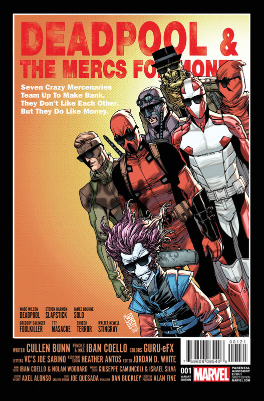 deadpool and the mercs for money 01 variant