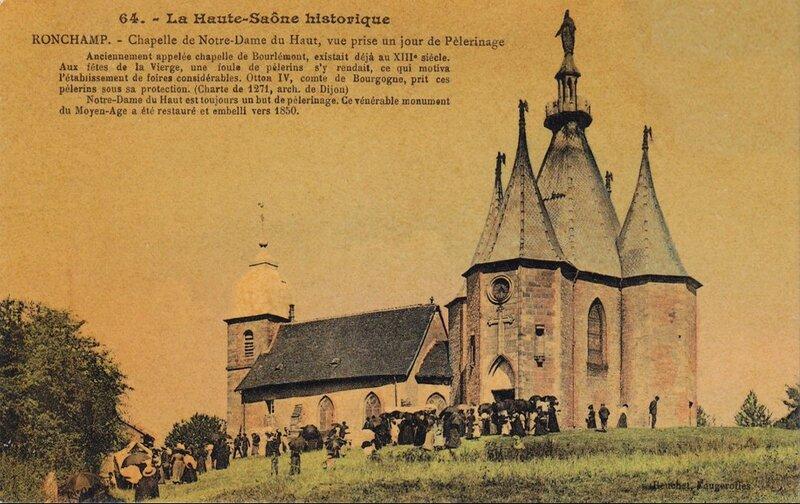 CPA Ronchamp Notre-Dame du Haut Pélerinage C