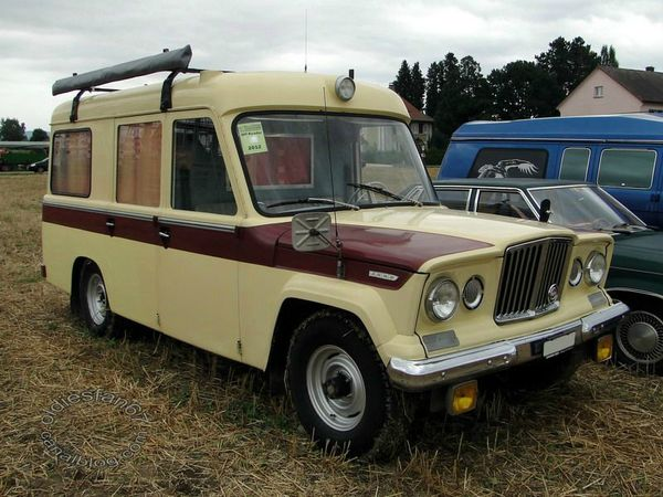Kaiser jeep ambulance 1963 1969 a