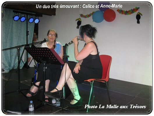 Calice et Anne Marie
