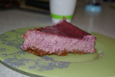 cheesecake fruits rouges base Speculoos 011