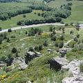 2008 06 26 Vu en contre-bas depuis le a la descente du Mont Gerbier des Jonc