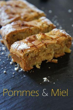 gâteau express pommes et miel (2)