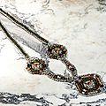 Collier hand-made en perles tissées