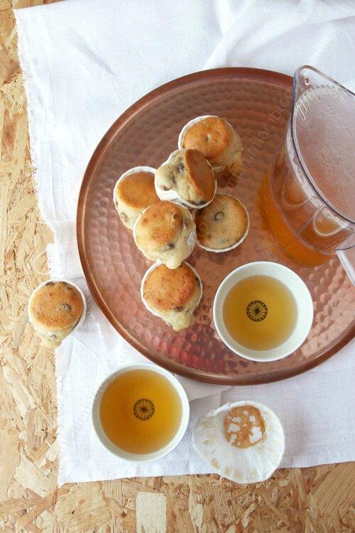 muffin cake citron raisins 0001 LE MIAM MIAM BLOG