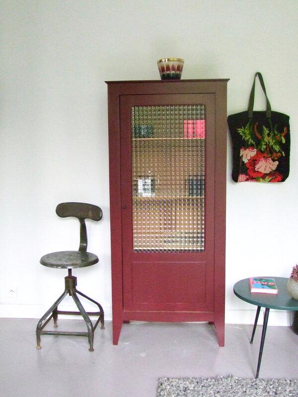 Armoire vitreé vintage