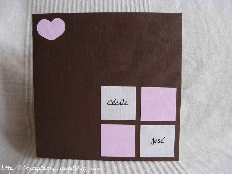 Faire-part mariage n°4