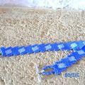 Diagonal bleu