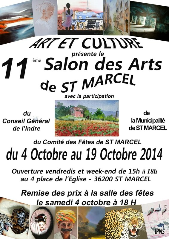 AfficheSalon Saint Marcel 2014