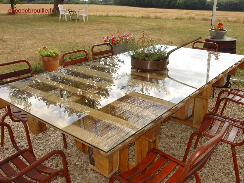 Tables Palettes. Plain Coffee Weathered Coffee Table Distressed ...