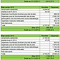 Les comptes au 31-12-2013