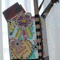 Mon pot à pinceaux + 1 carte