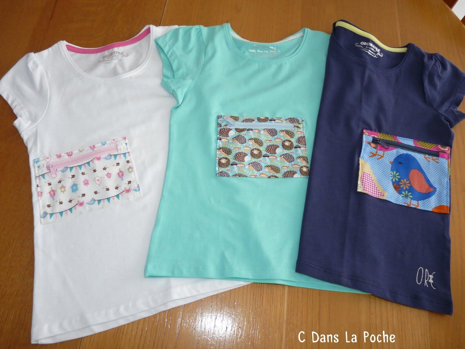 Tee Shirts Fillette