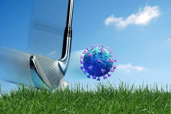Coronavirus-Merignies-Golf-2020