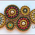 Atelier brick stitch circulaire