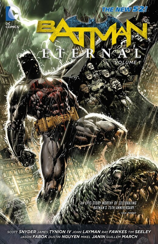 batman eternal vol 1 TP