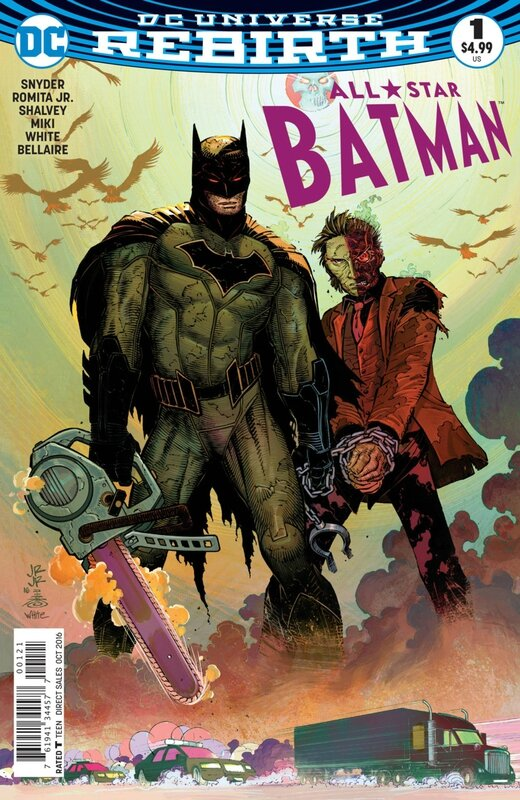 rebirth all star batman 01 romita variant