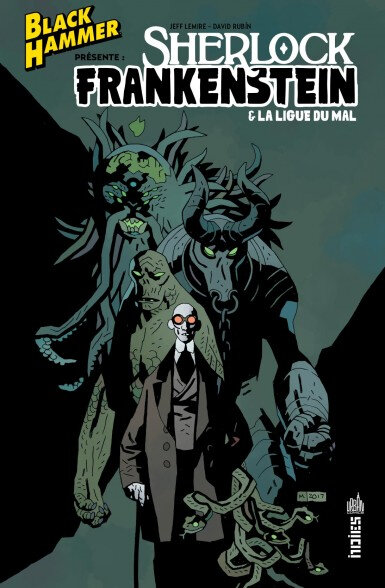 urban indies black hammer sherlock frankenstein & la ligue du mal