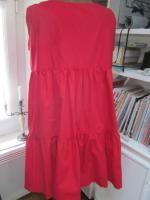 Robe CAROLINE en coton rouge (1)