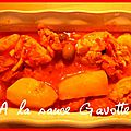 Emincés de poulet au chorizo et aux olives