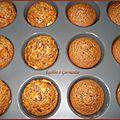 Muffins au chocolat et crêpes dentelles
