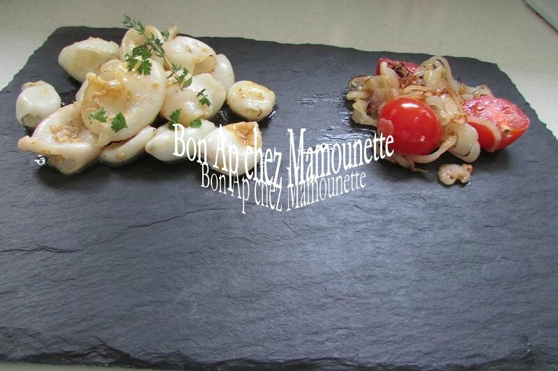 calamars à la plancha oignons et tomates cerises 017