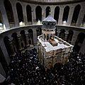 Sputniknews-la restauration de l'édicule de la tombe du christ de l'église du saint-sépulcre en images