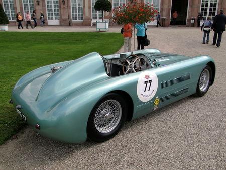 HERSHEY WALTHAM Streamliner Jaguar Barchetta 1948 Classic Gala de Schwetzingen 2010 4