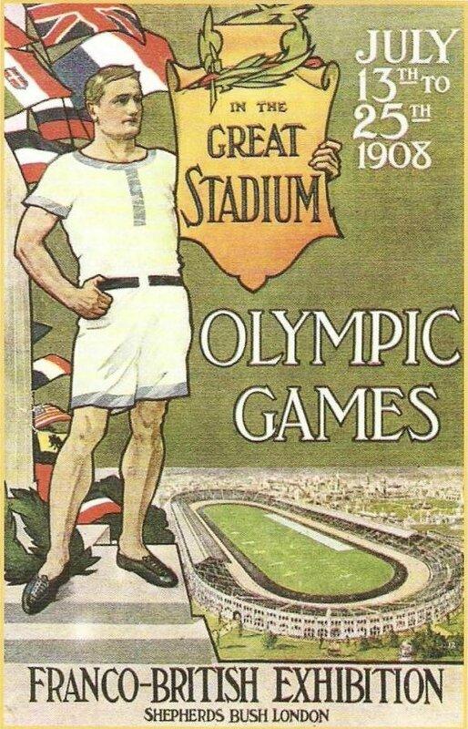 Affiche JO 1908 Londres