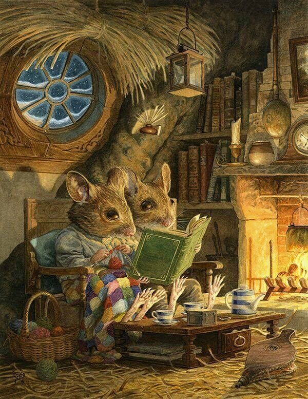 Fireside by Chris DUNN
