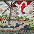 Ancienne tapisserie danoise