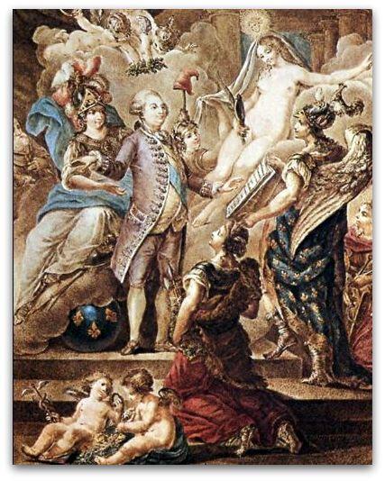 Louis XVI serment 1791 z