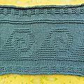 Nouveau design: delos coll au tricot/ pattern