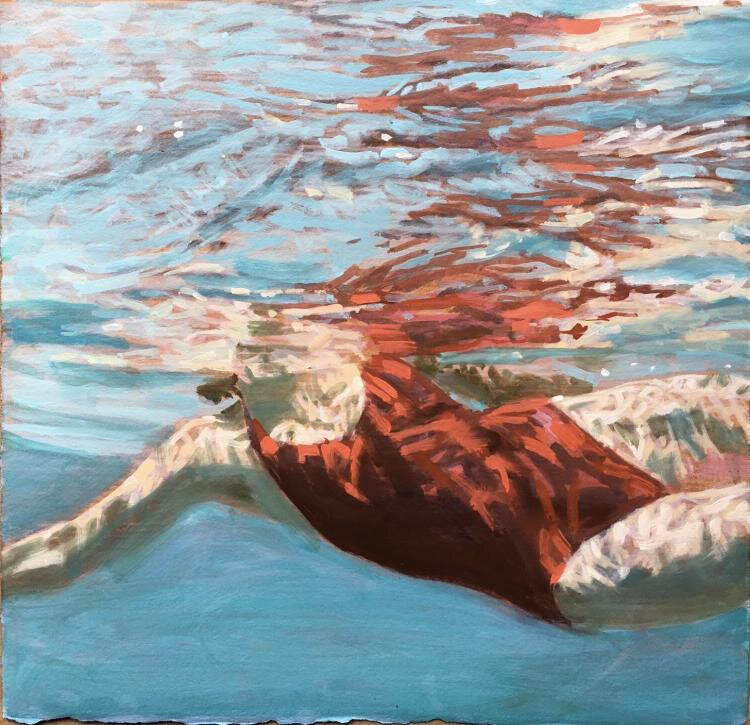 swimming carol bennett_jewel