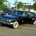 Chevrolet bel air 2door sedan de 1960 (Rencard di Burger King juillet 2010) 01